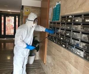 Servicios de limpieza y desinfección aplicados al CORONAVIRUS Covid-19