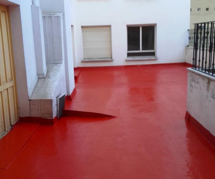 impermeabilizacion terraza pintura oviedo