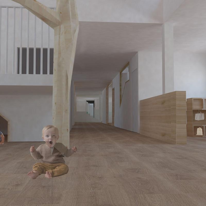 NEVERS IKASTETXEA. Reforma de edificio de educación infantil.: Servicios y proyectos de Maurtua Arquitectos