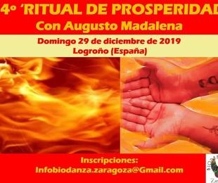 14º Ritual de Prosperidad en Logroño, con Augusto Madalena