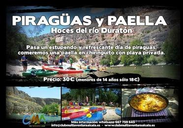 DIA 16 Junio Piragüismo en el Duratón