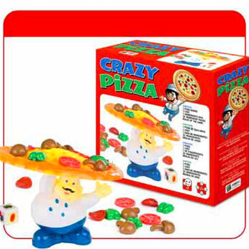 CRAZY PIZZA. PIZZA LOCA. MARIGO