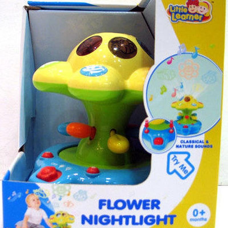 Flower night light. Proyector de flores