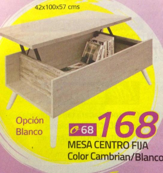 mesa centro mod.68: Productos  de Muebles Llueca, S. L.