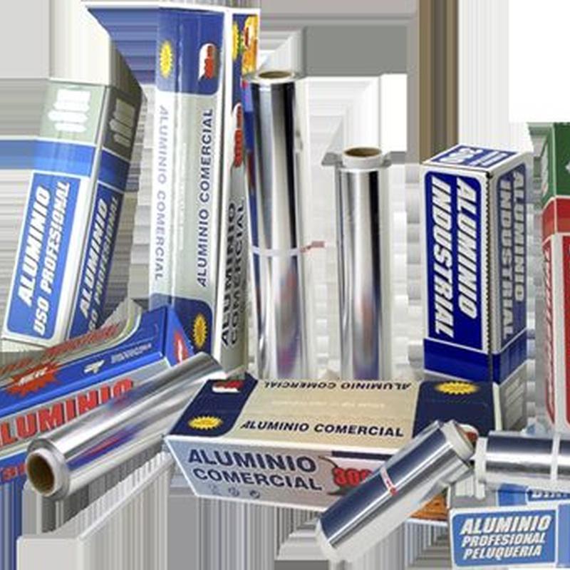 Bobina de aluminio industrial