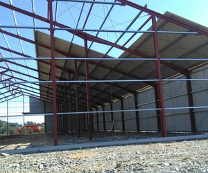 Estructuras metálicas con garantía profesional en Alicante