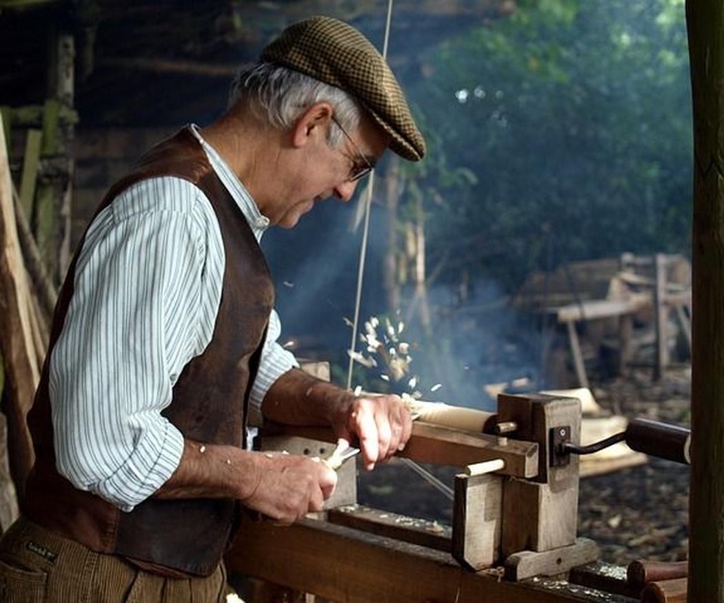 Los torneros de madera