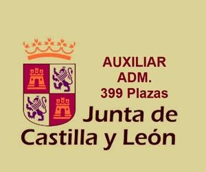 AUXILIAR ADM. JUNTA DE CASTILLA Y LEÓN. CONVOCADAS 399 PLAZAS (BOCyL 28/12/2020). COMIENZO DE CLASES.