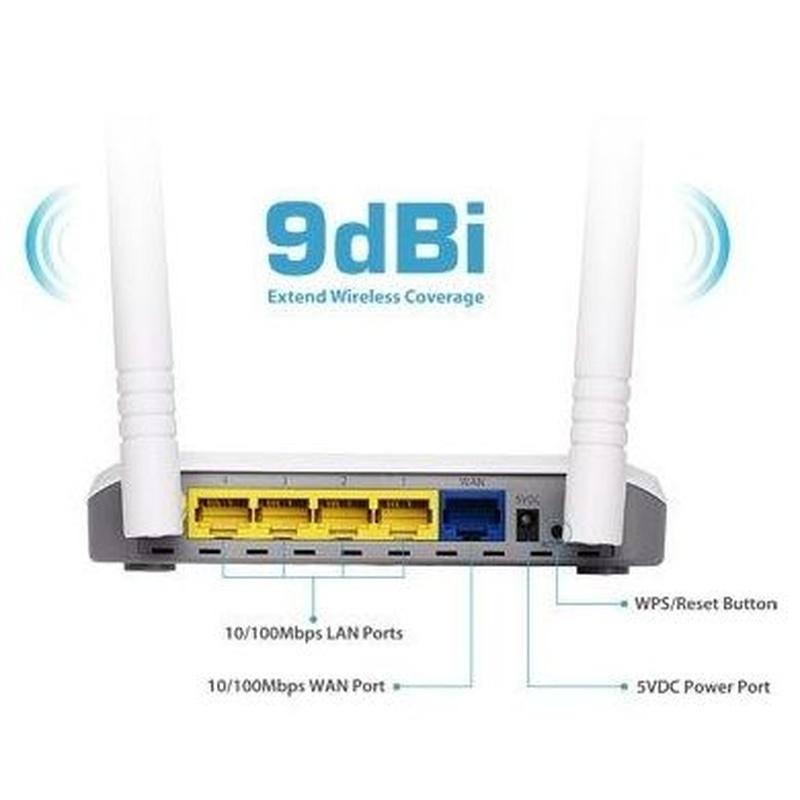 Edimax BR-6428NC Router+P.A.+Extend 2T2R 9dBi N300: Productos y Servicios de Stylepc