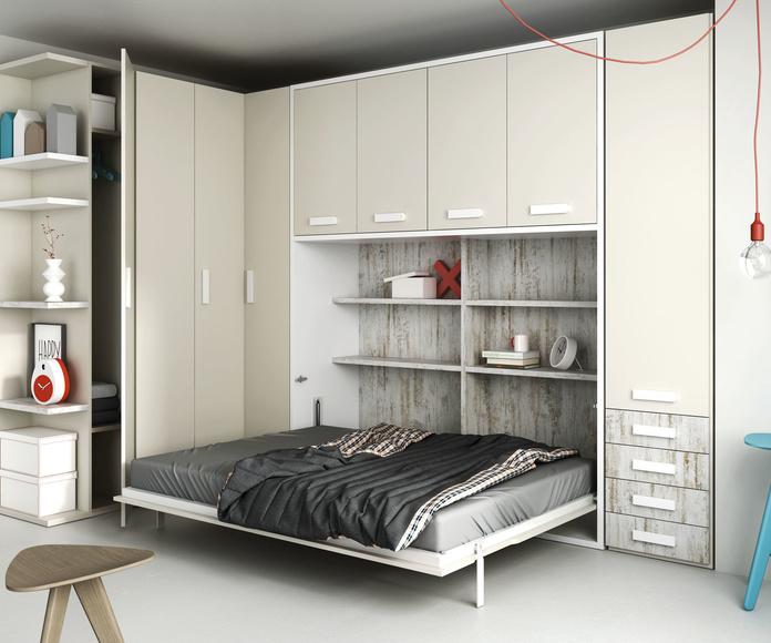 Litera Vertical Abatible: Nuestros muebles de Muebles Aguado