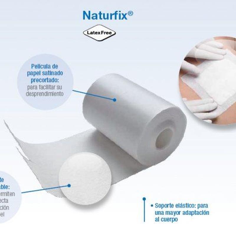 Adhesivo de Tejido sin Tejer Naturfix: Productos de PLUS CLINIC