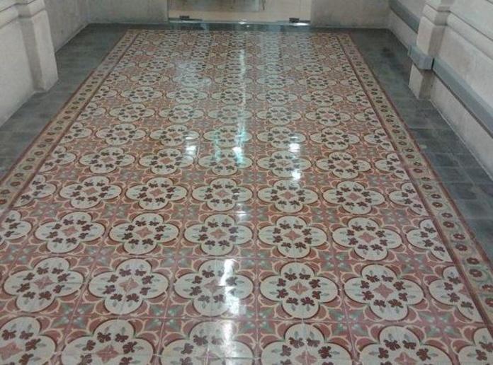 Vitrificado de mosaico y baldosa hidráulica : Servicios de Pulidos Reyes