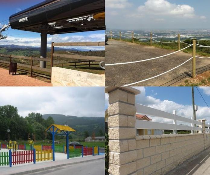 Cerramientos en madera: Productos y servicios de Cerramientos Enjo