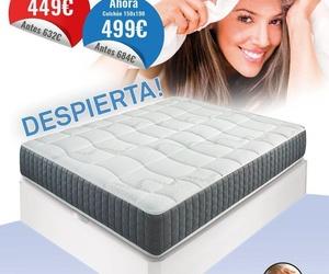 PACK COLCHON VISCOELASTICO Y CANAPE MADERA EXTRA CAPACIDAD 135 POR 449 €