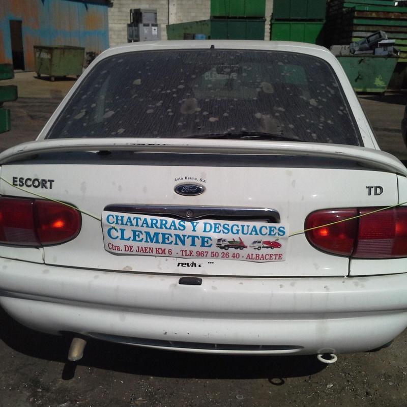 Ford Escort para desguace en desguaces Clemente