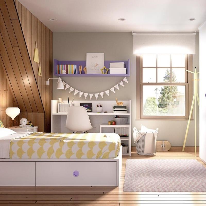 Juveniles: Muebles y colchones de Muebles Chamizo