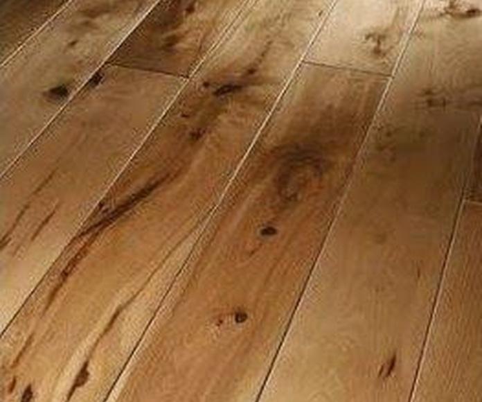 Nudos, defectos naturales madera