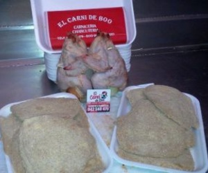 Filetes de pollo rellenos Jamón Ibérico y Queso