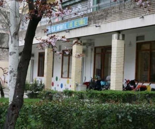 Fachada de la escuela infantil Los Retoños