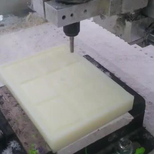 Mecanizado fresadora puente 3 ejes