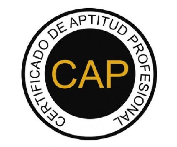CAP Certificado de Aptitud Profesional