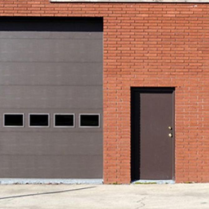 Ventajas de las puertas seccionales