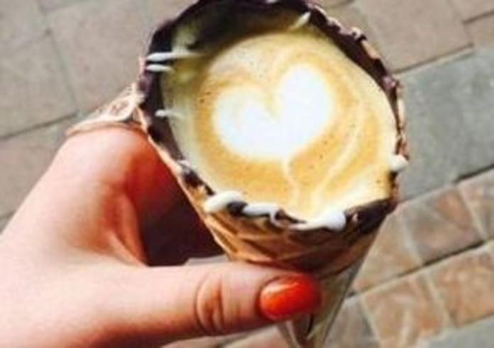Nueva forma de tomar café