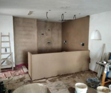 Reforma integra en cocina y baño(actualmente en construcion)