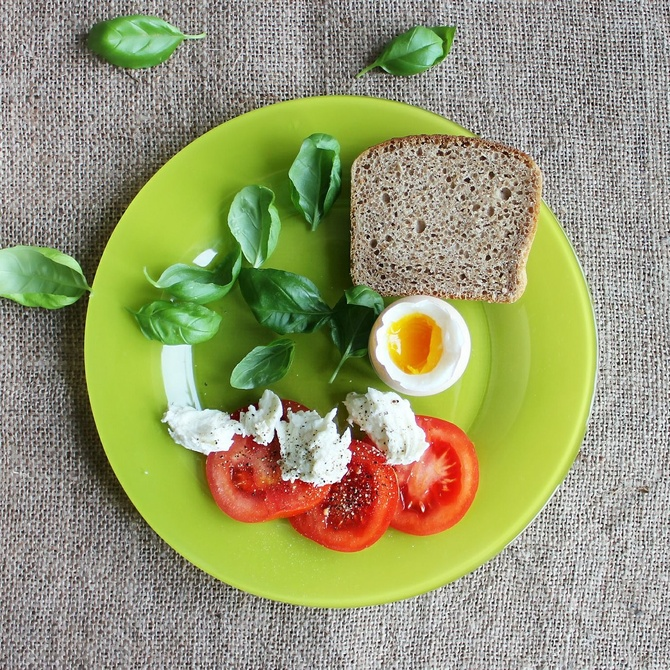 El plato saludable