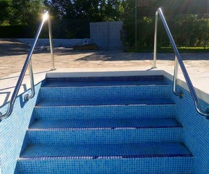 Barandilla de acero inoxidable para  piscina