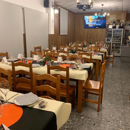 Abuela María: el único restaurante dentro del pueblo de Iznájar