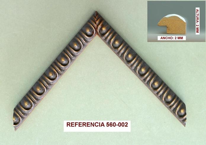 REF 560-002: Muestrario de Moldusevilla