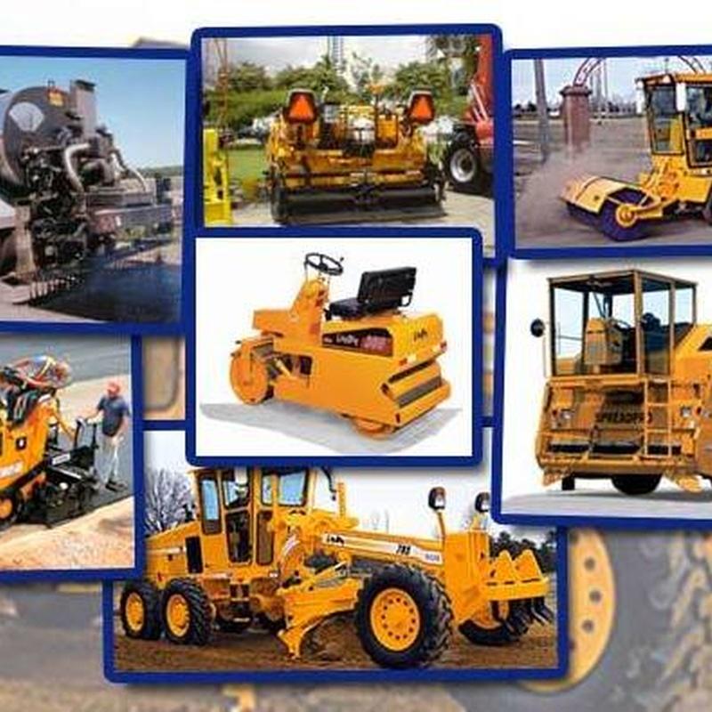 Alquiler de Maquinaria: Catálogo de Alegre Materiales para la Construcción