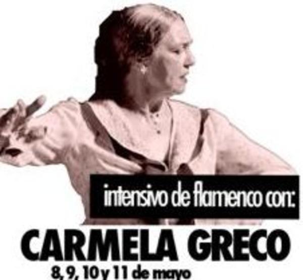 FLAMENCO CON CARMELA GRECO