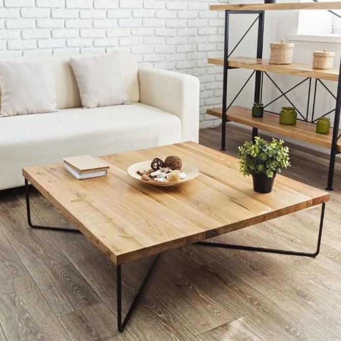 Cómo combinar los colores con muebles de madera