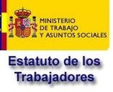Modificación del Estatuto de los Trabajadores del 24 de octubre de 2015