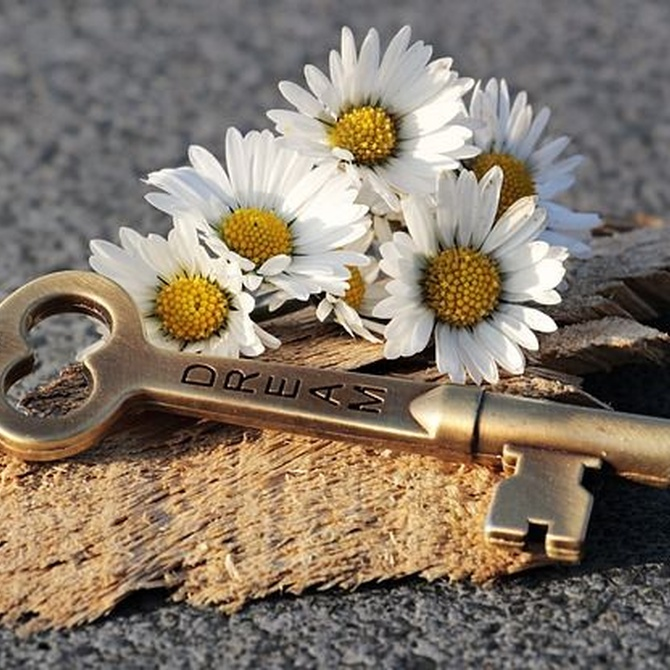 Trabajo artesanal de llaves