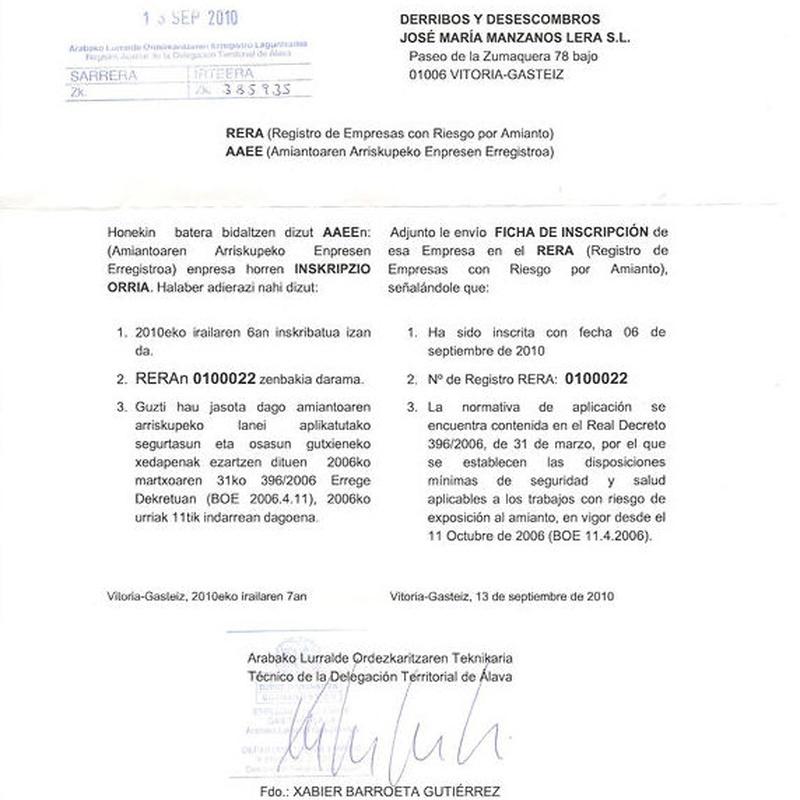 Normativa: Catálogo de RECOEX, S.L.
