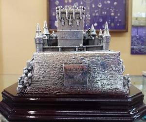 Alcázar de Segovia en plata