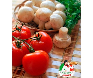 Ingredientes naturales para nuestras pizzas