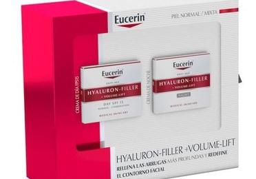 COFRE EUCERIN HYALURON FILLER VOLUMEN PELL NORMAL MIXTA DIA + NIT