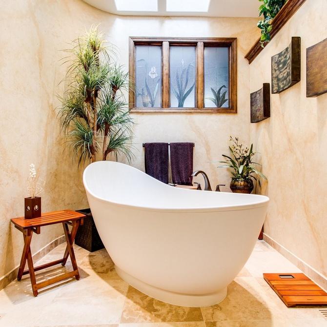 Concepto abierto para baños, una nueva moda