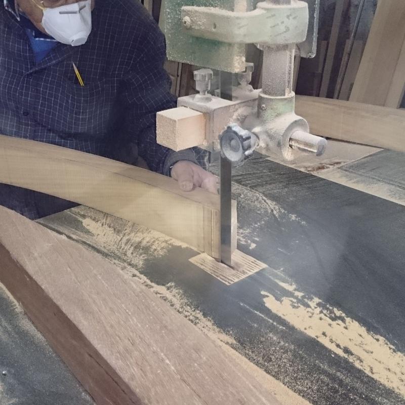 Colocación: Artesanos de la Madera de Carpintería Tosan