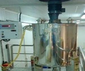 Automatización y pesaje de mezcladora y productos químicos