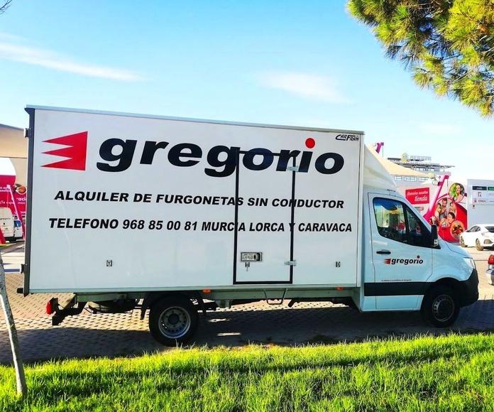 Alquiler camión de mudanzas