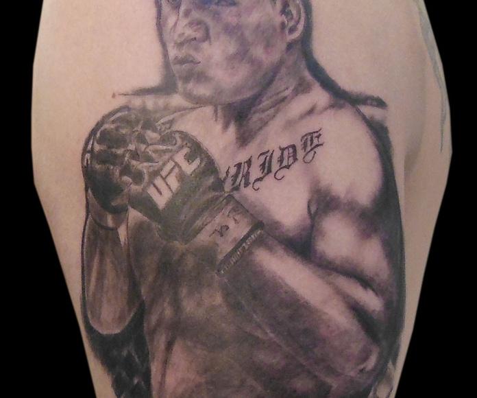 Luchador MMA