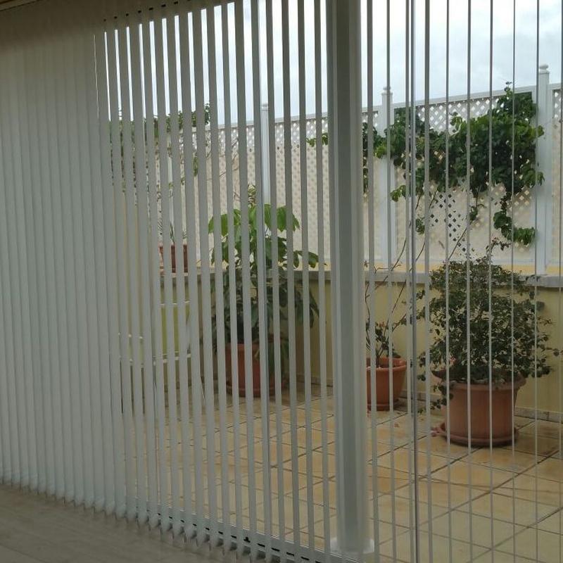 Cortinas Verticales: ALUMINIO - PVC de ALUMINIOS CARPAL