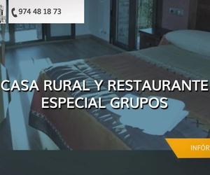 Casa rural para grupos Jaca