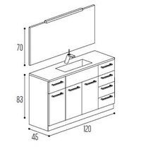 Mueble baño Kyrya Modular Complet C9