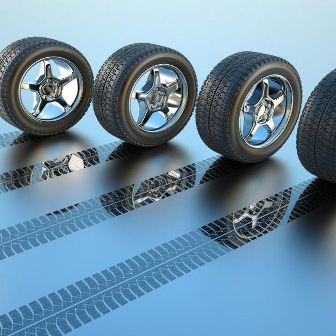 Los neumáticos, grandes protagonistas